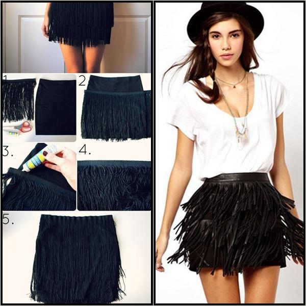 DIY Skirt black