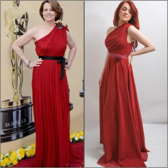 Glamour Icons Creation Red Carper Dress