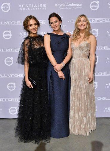 Jessica Alba, Jennifer Garner and Kate Hudson