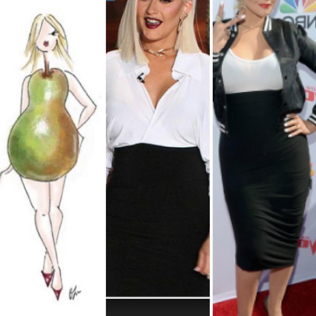 pear shape